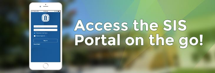Access the SIS Portal on the go