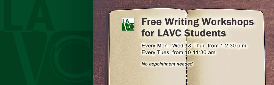 Free Writing Workshops 