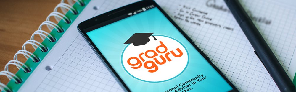 GRAD GURU IS HERE! Download the free app that helps you stay on track.