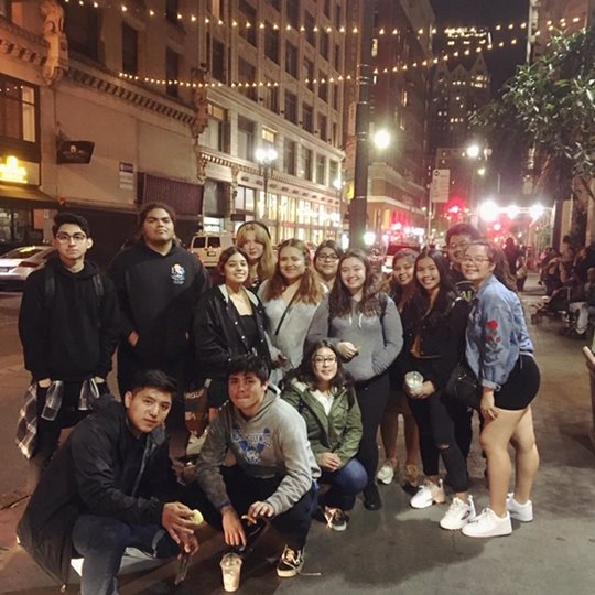 Puente Cohort at the Last Bookstore in DTLA