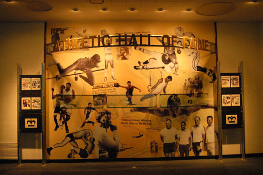 Athletic Hall of Fame mural
