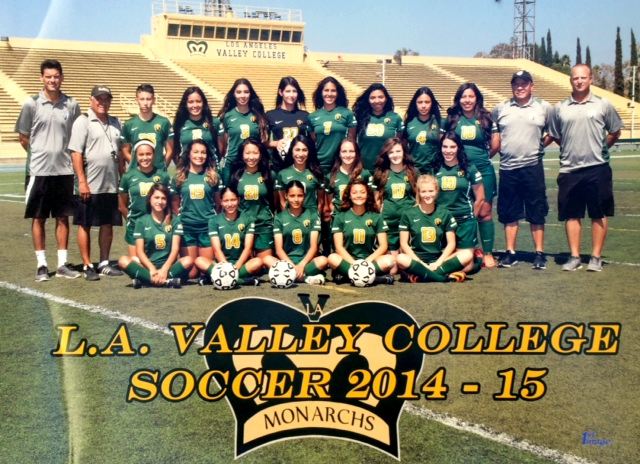 L.A. Valley College soccer 2014-2015