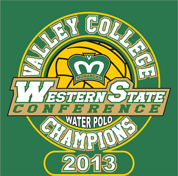 Valley College Champions, Western State Conference Water polo 2013