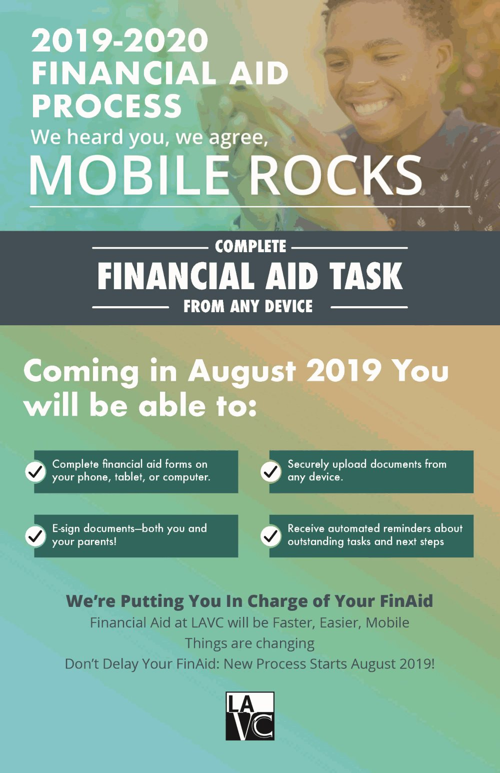 Financial Aid Changes Los Angeles Valley College