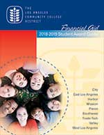 Financial Aid 2018-2019 Student Award Guide Cover
