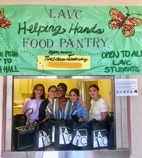 LAVC Helping Hands Food Pantry Helps Hungry Students on Campus