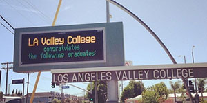 Transferring to a University? Share it on the LAVC Marquees!