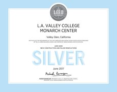 LAVC Student Union Receives a LEED Silver Certification