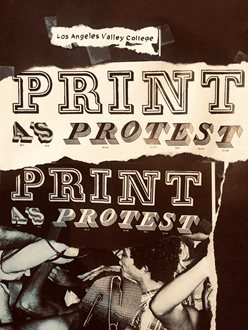 Print as Protest Art Exhibition