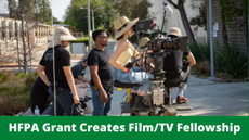 HFPA Grant Creates Film & TV Student Fellowship