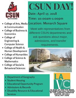 CSUN Day at LAVC