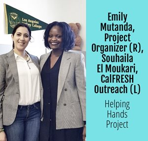 Helping Hands Project - Emily & Souhaila