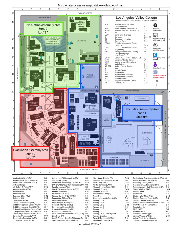 Map Of Los Angeles Valley College   Hitman Game