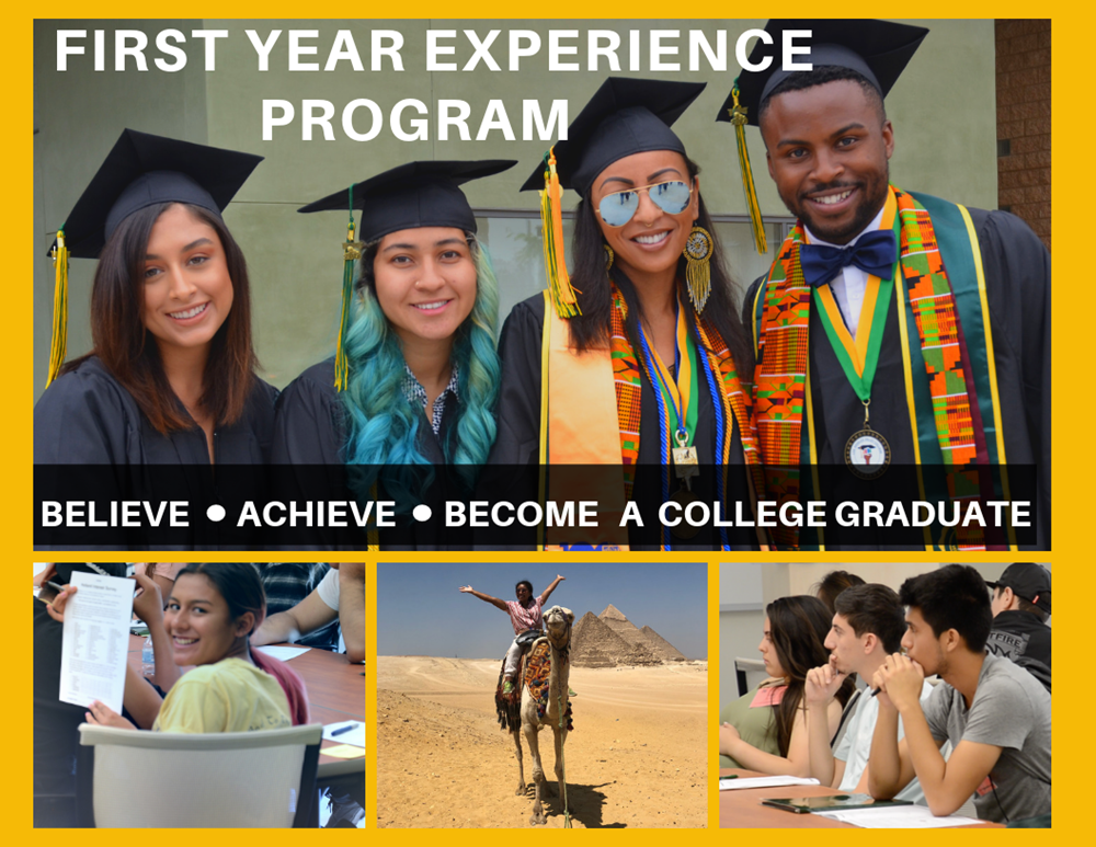 First Year Experience Program, Believe Achieve Become a College Graduate