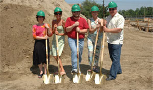 Ground breaking for Allied Health and Science building