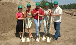 Ground breaking for Allied Health & Science Center