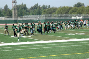 Picture of Football team on field