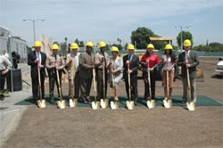 Ground breaking for Maintenance & Operations and Sheriff's Station