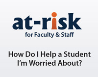 At-Risk Training for Faculty logo