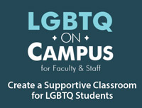 LGTBQ Training for Faculty logo